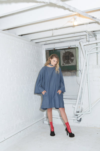 Ten Bells Dress - Chambray