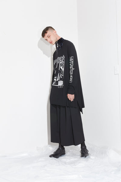 Cursed Tee // Dark Recline Pant // Circuit Crop