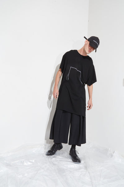 Deresolution Domed Tee // Dark Recline Pant