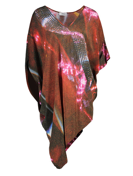 Mirrorball Print (Red)