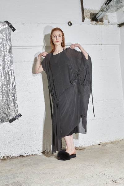 Pompeii - Washed Grey Silk