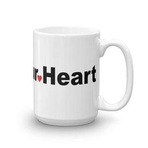 Open Your Heart Mug