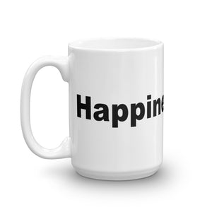 Happiness Rocks Mug