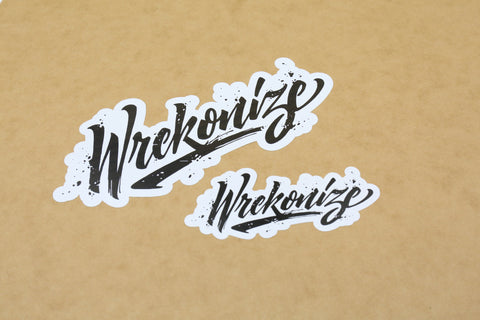 2016 Wrekonize Logo Sticker