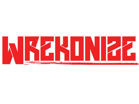 2015 Wrekonize Logo Sticker