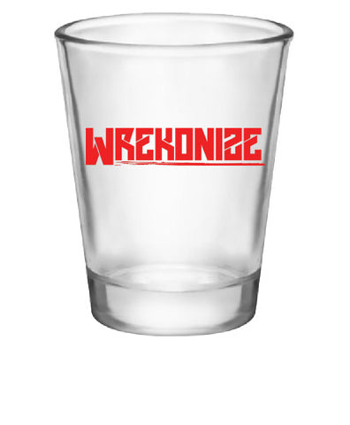 Wrekonize Logo Shot Glass