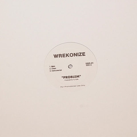 Problem B/W Bizness As Usual (Vinyl Single + MP3 Download) (LIMITED)