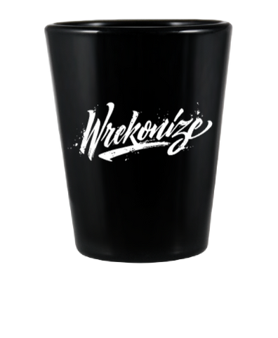 Wrekonize 2016 Logo Shot Glass