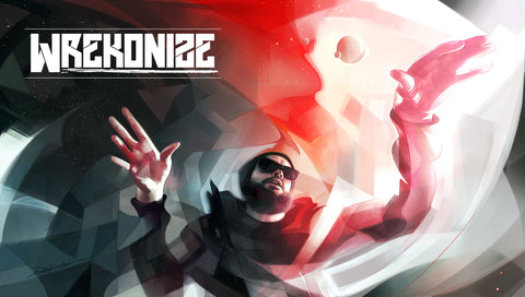 """New Worlds, New Sounds"" - Wrekonize 2015 Poster"
