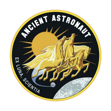"ANCIENT ASTRONAUT Mission Patch ""Ex Luna, Sciential"""