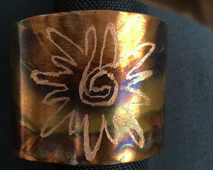 Mystic Powers Copper Cuff