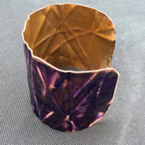 2 inch form-folded copper cuff