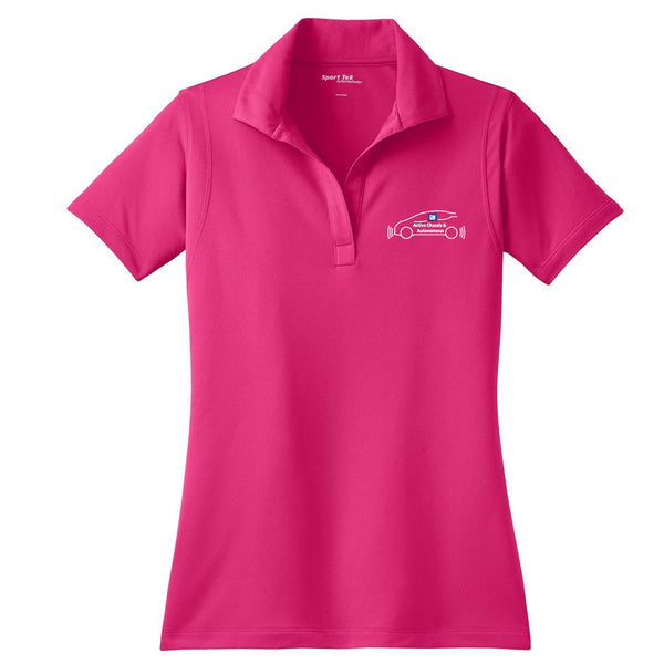 d51913bc EMBROIDERED GM Active Chassis Ladies Wicking Polo – Shirt Traveler