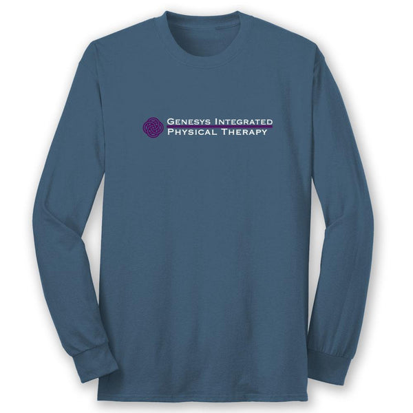 PRINTED FF GENESYS Integrated Physical Therapy Unisex/MENS Long Sleeve Tee