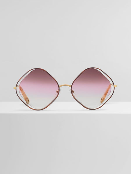 Chloé Poppy Diamond Rose Sunglass