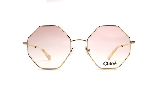 Chloé Palma Octagonal Gold Optical