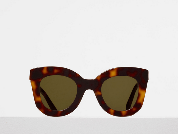 Butterfly Acetate Sunglass / Tort CL40005I