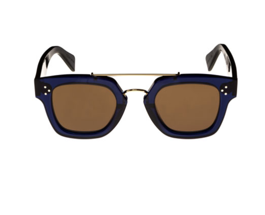 SQUARE ACETATE IN BLUE