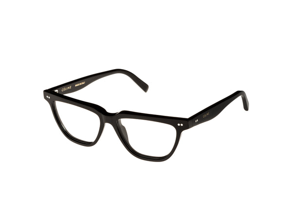 Flat Top Cat Eye Optical / Black