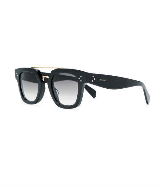 SQUARE  ACETATE IN BLACK