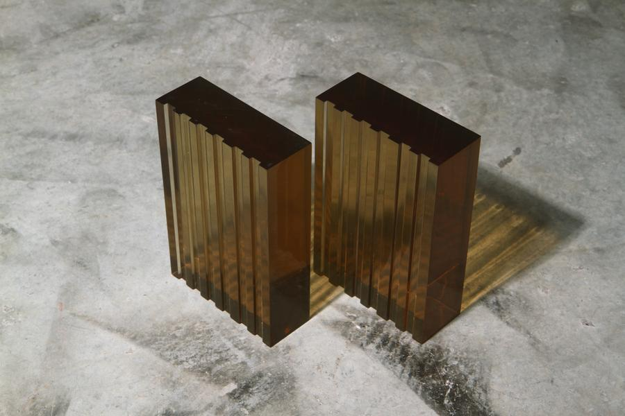 Lombardy Resin Bookends Green