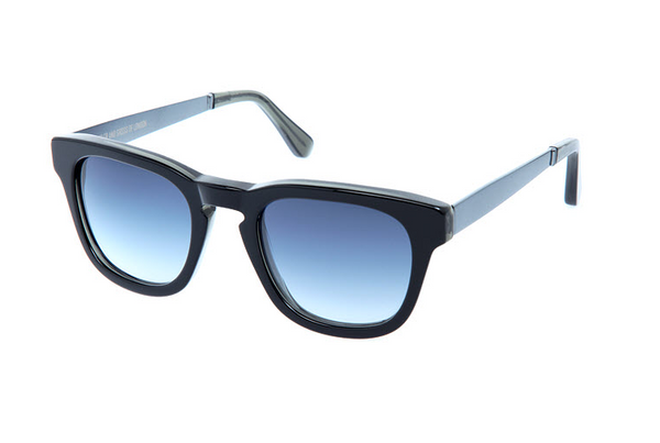 Cutler and Gross 1183 Black on Aviator Blue