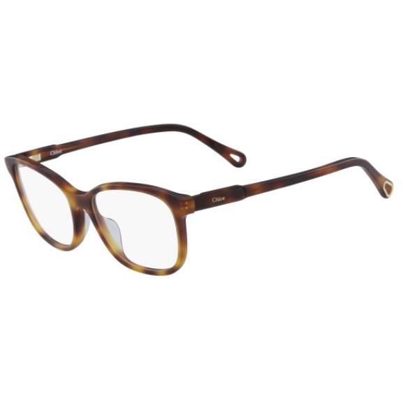 Chloé Narrow Rectangle Acetate Eyewear