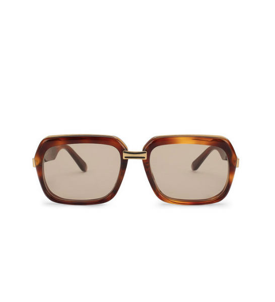 70's Square Sunglass / Tort CL40050U