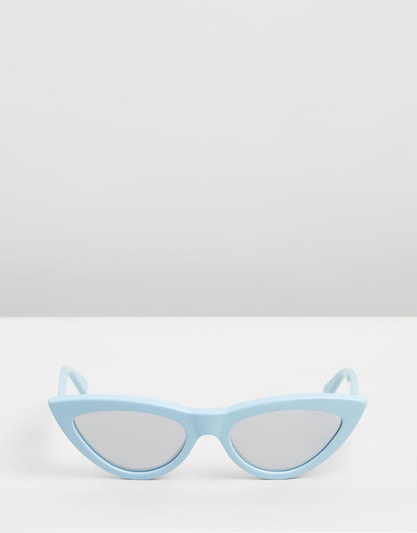 Classic Cat Eye / Baby Blue CL40019i