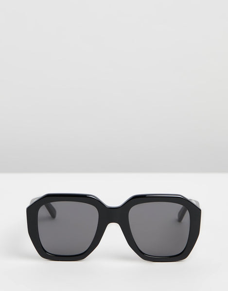Geometric Sunglass / Black CL40045I