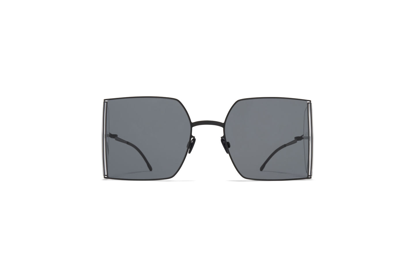 HL003 / Black Clear Sides Dark Grey