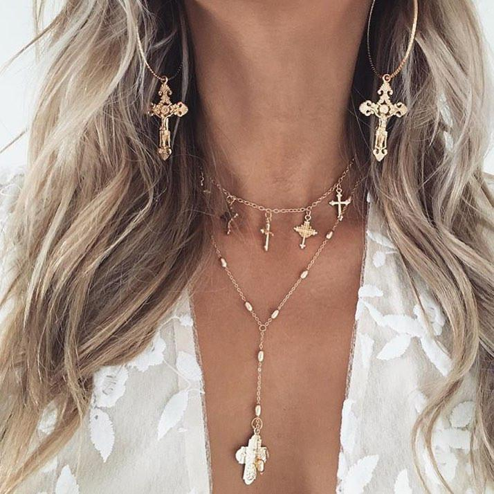 LITTLE PRAYER CHOKER - SILVER