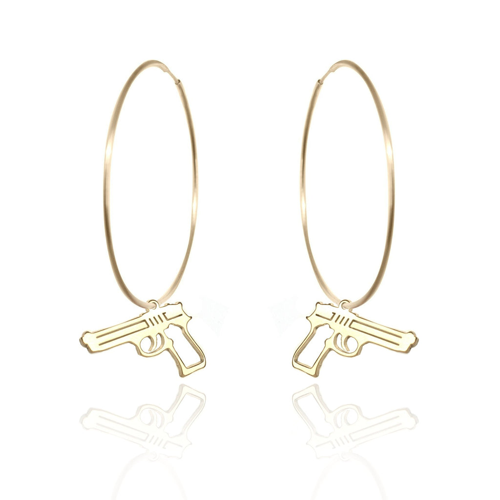HOT REVOLVER ULTRA HOOPS 24K