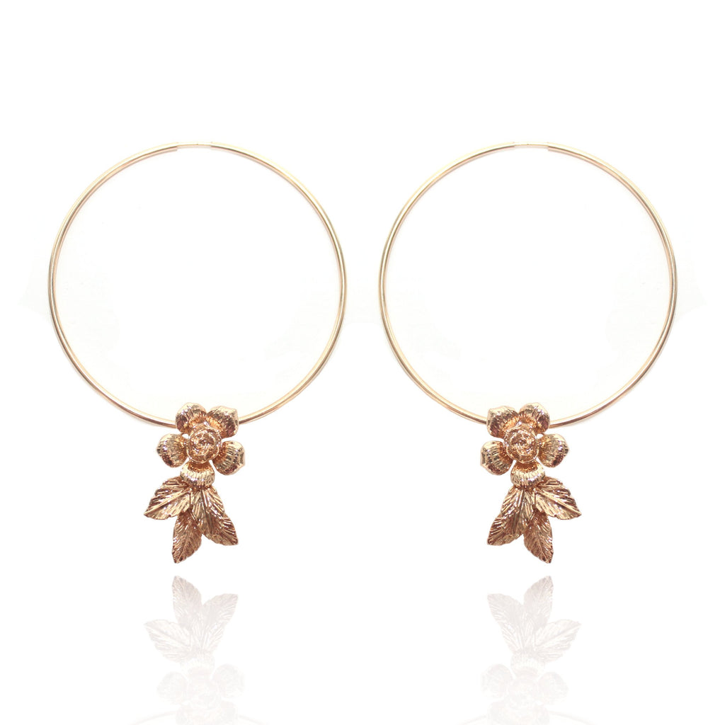HONEYCOMB ULTRA HOOPS 24K