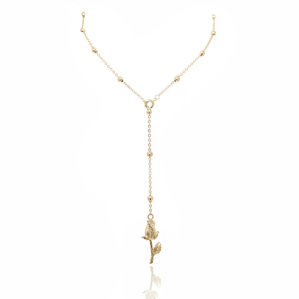 ROSÉ NECKLACE 24K