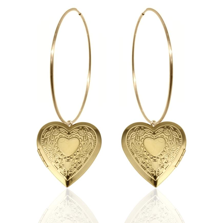 ADORE ME ULTRA HOOP EARRINGS