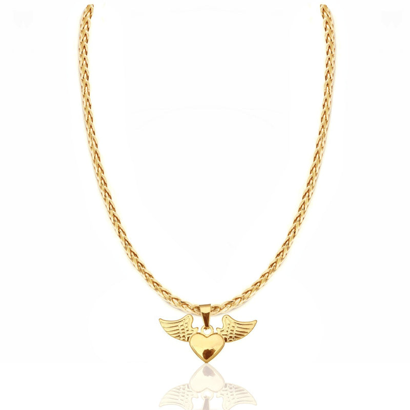 BABY AMOR NECKLACE  24K
