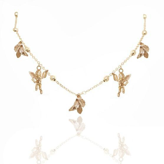 BABY BUTTERCUP NECKLACE 24K