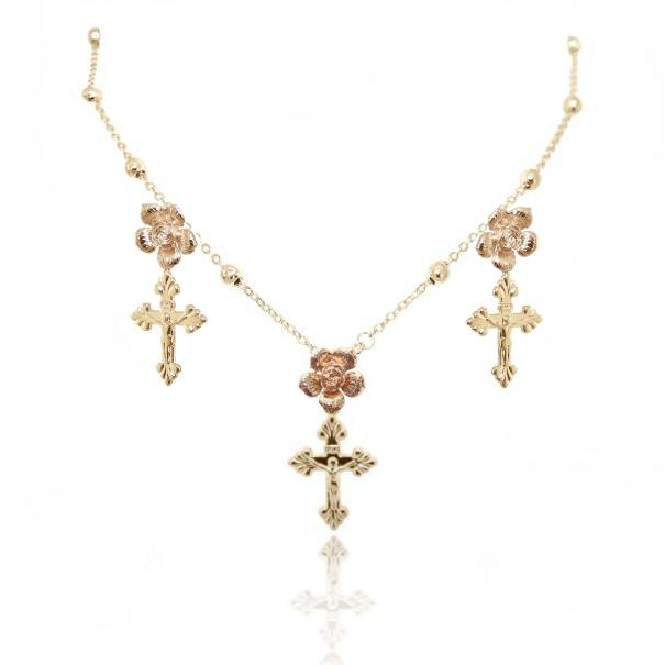BAMBI NECKLACE 24K