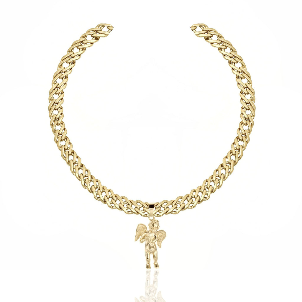 MAYBE BABY NECKLACE 24K