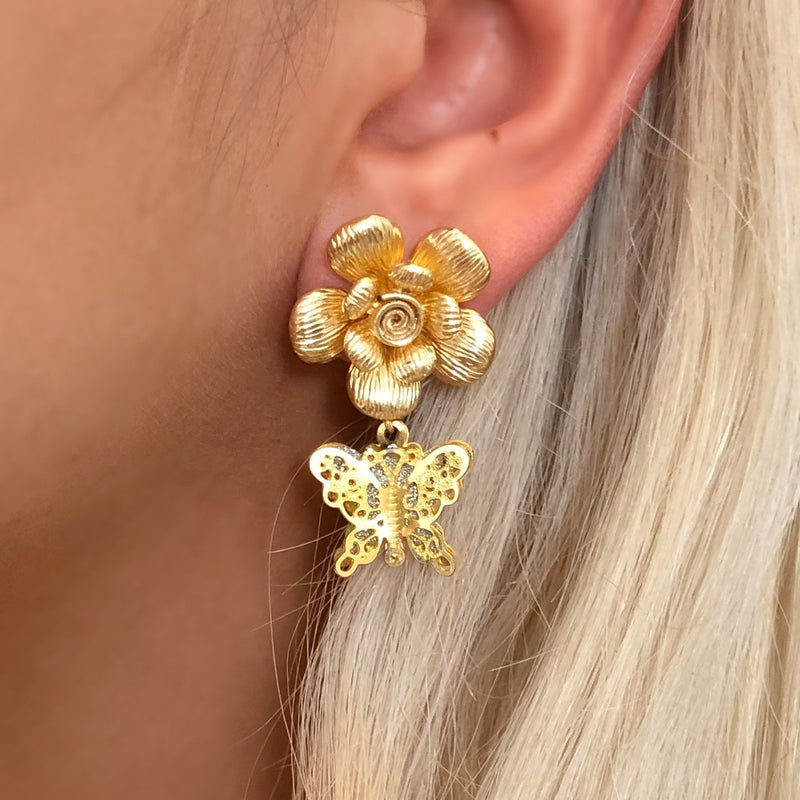 BUTTERFLY BLOOM EARRINGS