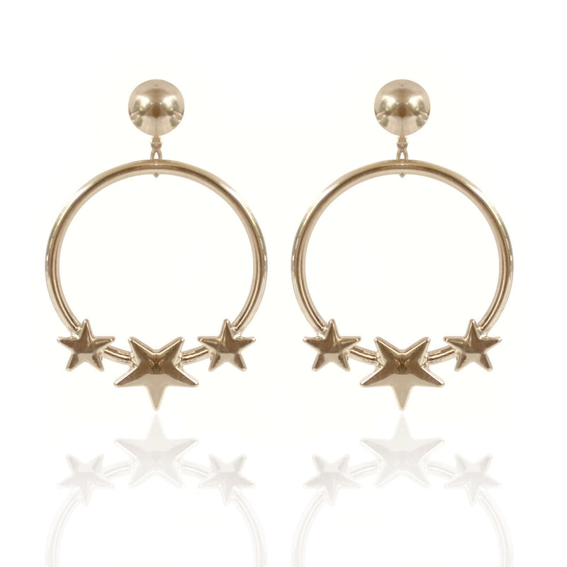 CROWN CRUSADER EARRINGS