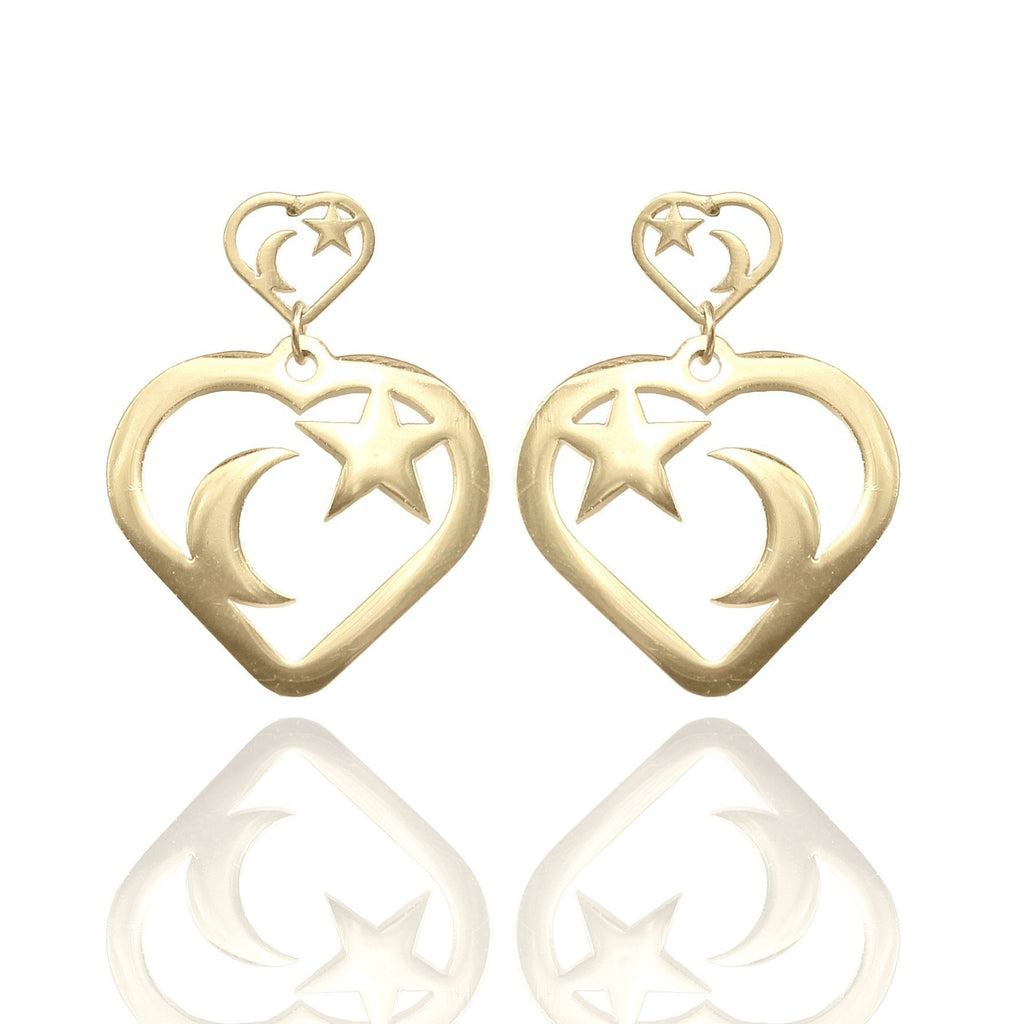 THE HEART-BREAKER EARRINGS