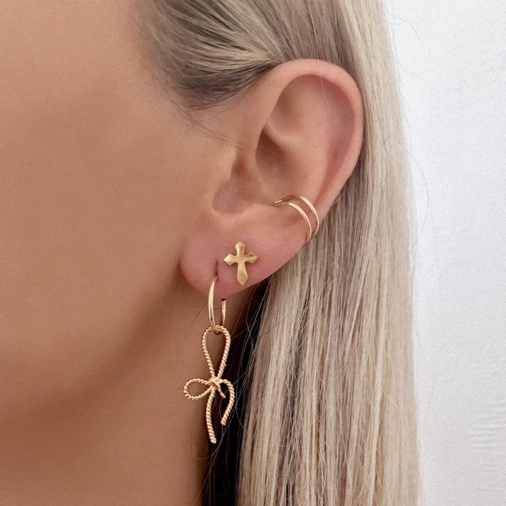 LACY MICRO HOOPS