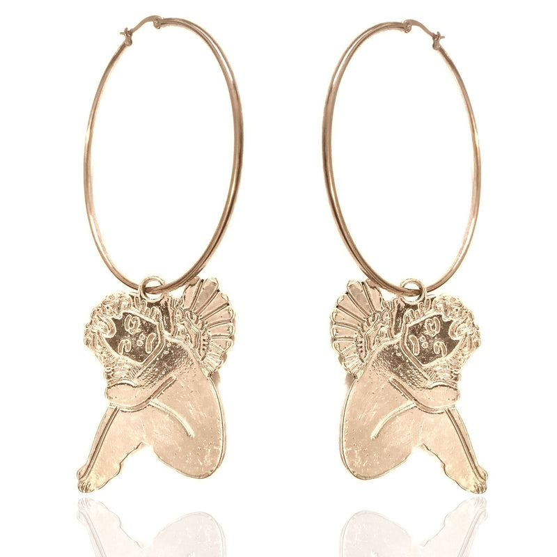 Queen Putti Earrings