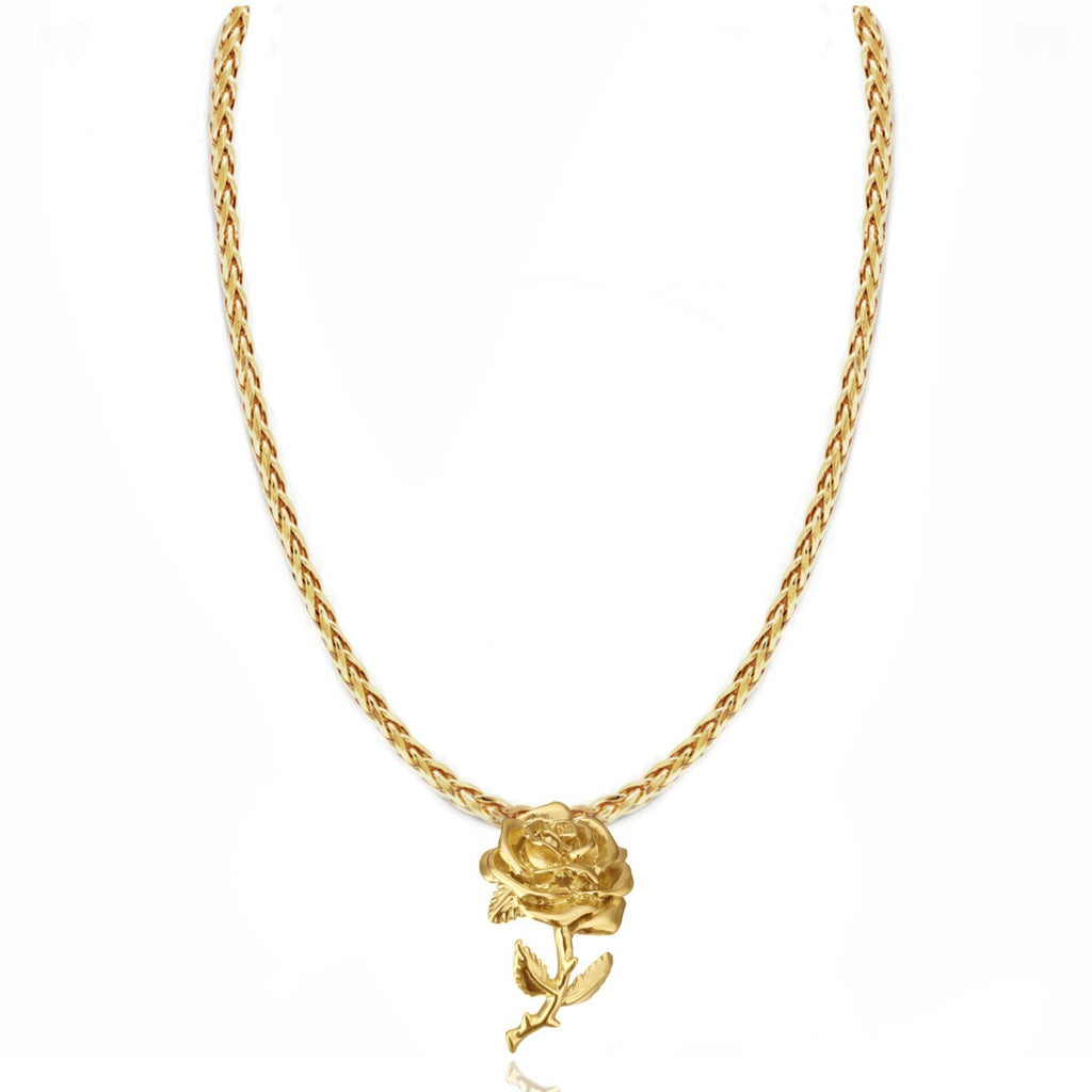 INFINITE SPRING NECKLACE 24K