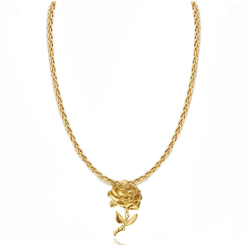 HONEYCOMB NECKLACE 24K