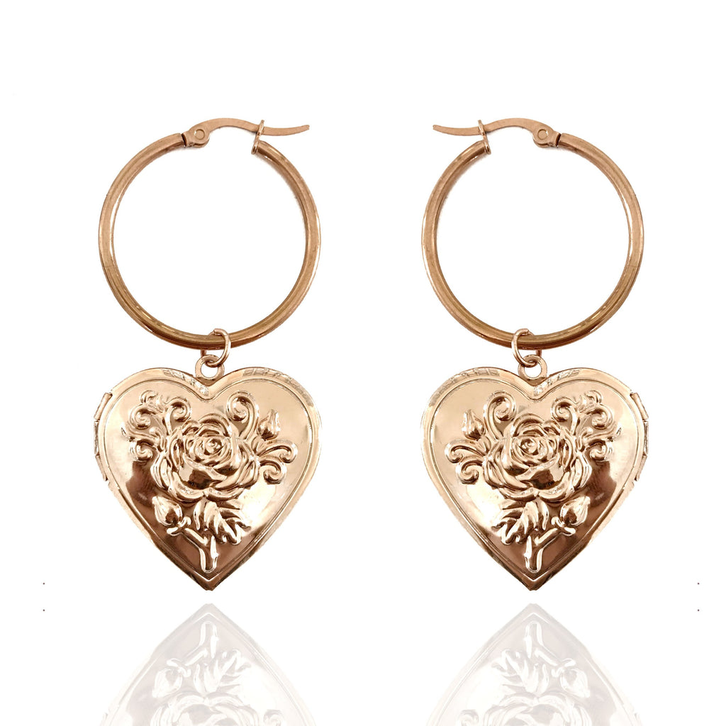 TUSCAN ROMANCE MINI HOOPS