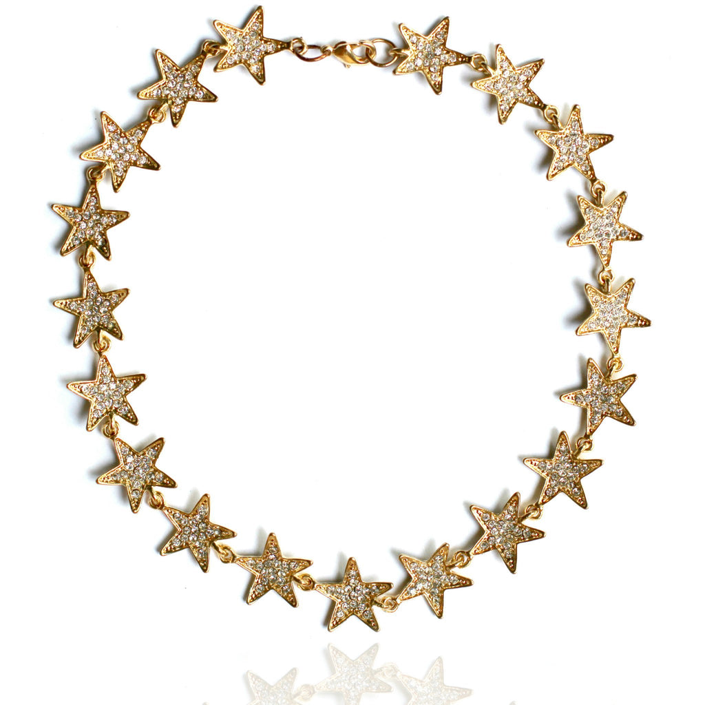 AMONG THE LEADERS CHOKER - GOLD