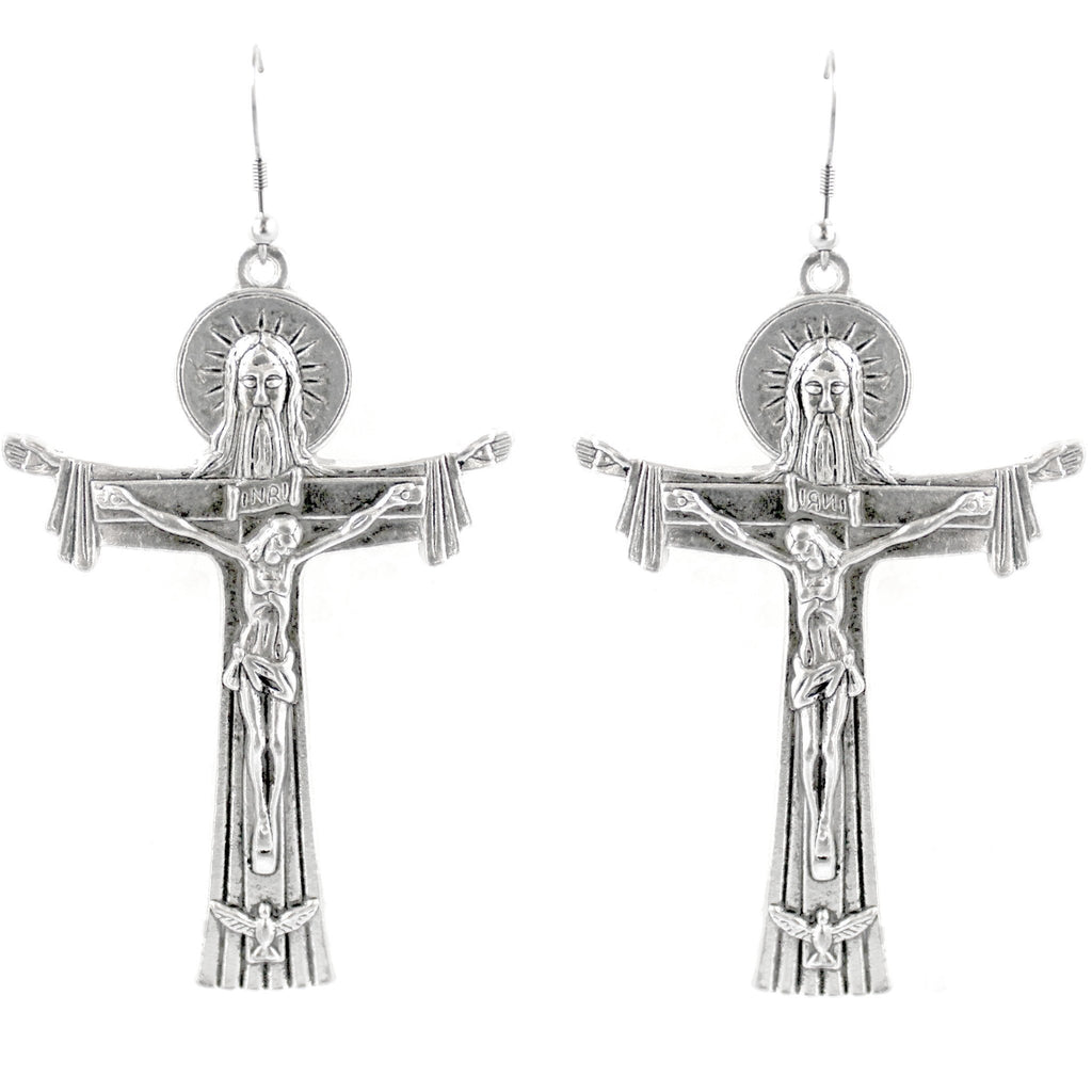 RIDE OR DIE EARRINGS -SILVER